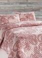 Eponj Home Çift Kişilik Yatak Örtüsü Pembe